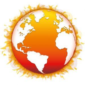 brennende Erde