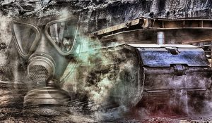 gas maske braunkohle